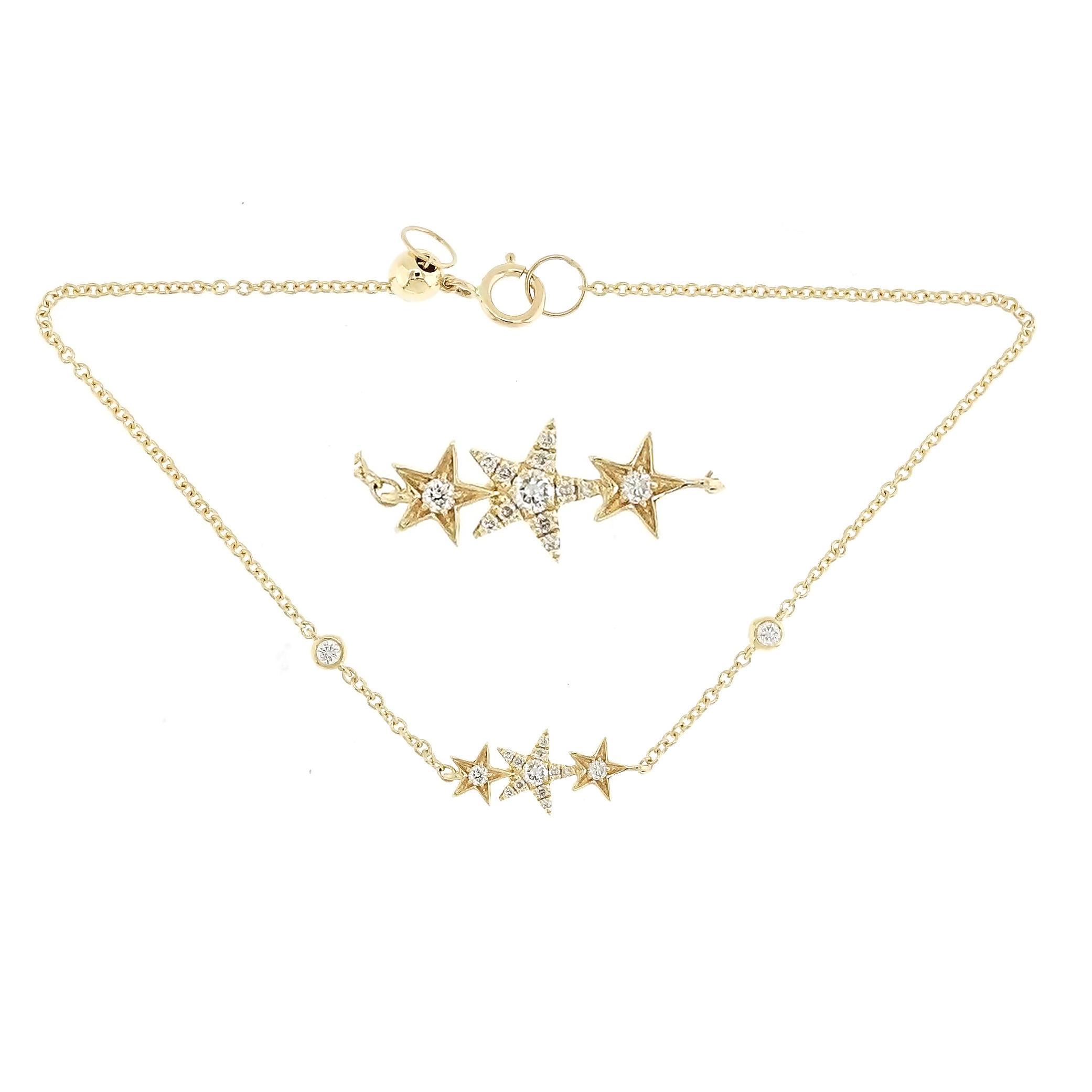 Pulsera Estrellas Brillantes